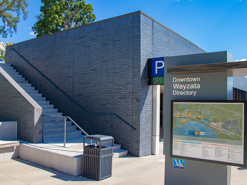 Wayzata Parking Ramp Handrails