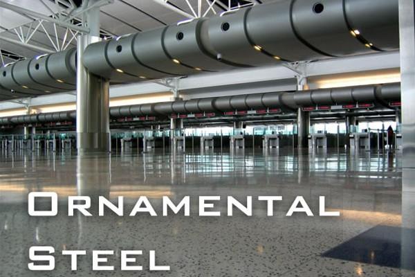 Ornamental Steel slide 01