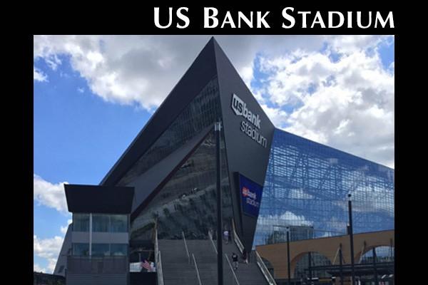 US Bank Stadium Slide